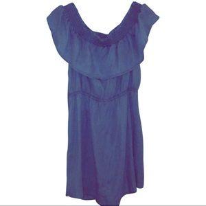 Express jean dress